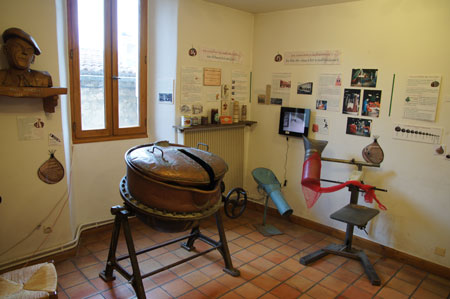 The chestnut-museum in Joyeuse.