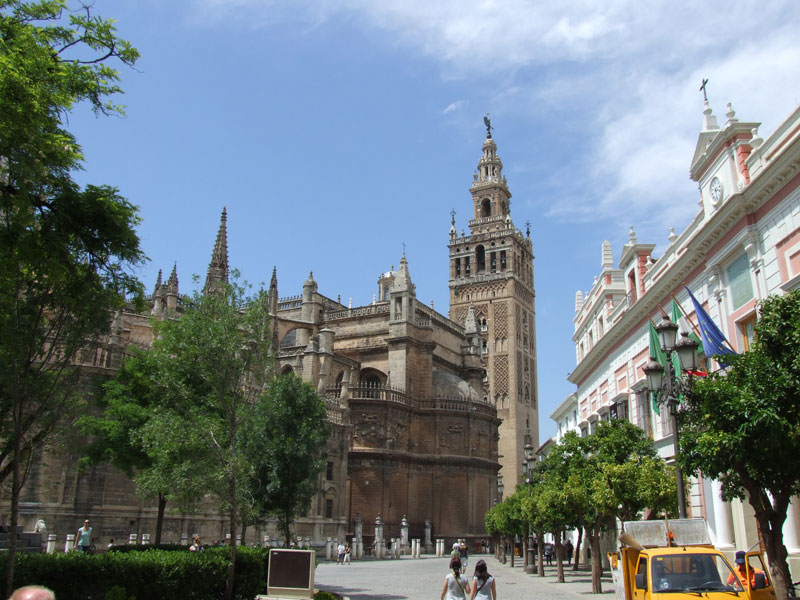 The cathedral of Sevilla
